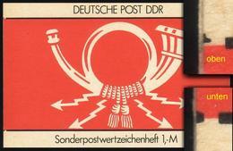 SMHD 31a Brieftauben 1987 Mit DDF Auf 4.DS Schwarze Linien Kurz ** - Carnets