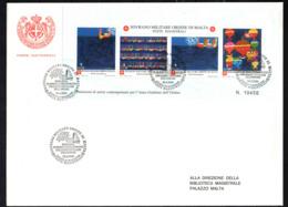 SMOM - 2000 - DONAZIONI DI ARTISTI CONTEMPORANEI PER L'ANNO GIUBILARE DELL'ORDINE - 1^ EMISSIONE - FDC - Sovrano Militare Ordine Di Malta