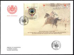 SMOM - 2000 - PALIO DI SIENA DEL 21 LUGLIO 2000 - 40^ VITTORIA DELLA CONTRADA SOVRANA DELL'ISTRICE -FDC - Sovrano Militare Ordine Di Malta