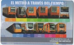 Carte De Transport En Commun : Mexico City - Autres Collections