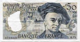 France 50 Francs (P153f) 1992 -VF- - 1962-1997 ''Francs''