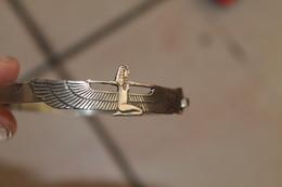 2 Bracelets Egyptiens En Argent - Volksschmuck