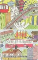 Carte De Transport En Commun : Singapour Singapore - Autres Collections