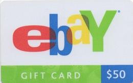 Carte Cadeau Gift Card : EBay $50 (PIN Non-gratté) - Gift Cards
