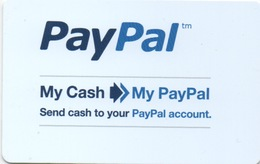 Carte Cash : PayPal (PIN Non-gratté) - Gift Cards