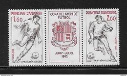 1982 - ANDORRE      N°302A ** MNH - Andorra Francesa