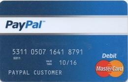 Carte De Débit : PayPal - Gift Cards