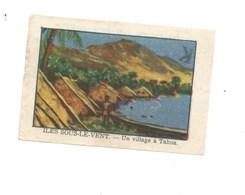 Chromo OCEANIE Îles Sous- Le-Vent TAHOA Chocolat Annecy RR 1936 TB/Bien Colonies Françaises 2 Scans (Vente Privée) - Chocolat