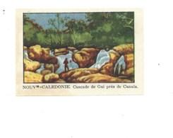 Chromo OCEANIE Nlle Calédonie Cascade De Gui CANALA Chocolat Annecy RR 1936 TB/Bien Colonies 2 Scans (Vente Privée) - Chocolat