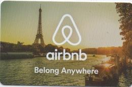 Carte Crédits : Airbnb (PIN Non-gratté) - Gift Cards