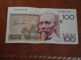 Billet,  100,  Francs, Belge, Belgique, Belgié, Circulé, Hendrik Beyaert - België