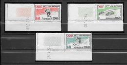 Togo Série Complète Coins Datés JO 60 ** - Invierno 1960: Squaw Valley