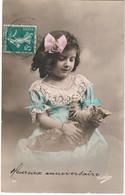 Chat Fillette -cat And Child-  Poes Meisje -mädchen Katze -gatto- - Chats