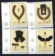 SMOM - 2001 - FOGGIA DELLE INSEGNE DELL'ORDINE- MNH - Sovrano Militare Ordine Di Malta