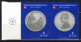 SMOM - 2001 - LE MONETE DEL SOVRANO MILITARE ORDINE DI MALTA - 2^ EMISSIONE - MNH - Sovrano Militare Ordine Di Malta