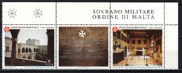 SMOM - 2001 - MUSEO DEL SOVRANO MILITARE ORDINE DI MALTA NEL PALAZZO DEL GRAN MAESTRO A RODI - MNH - Sovrano Militare Ordine Di Malta