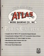 Catalogue ATLAS Model Railroad Parts Catalog HO & N 1990 - Anglais