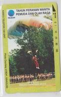 INDONESIA 1995 PARACHUTING - Indonesia