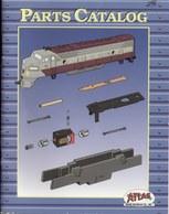 Catalogue ATLAS Model Railroad Parts Catalog HO & N 1993 - Anglais
