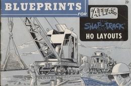 Catalogue BLUEPRINTS For ATLAS Snap-Track HO Layouts 1960 - Anglais