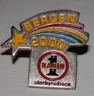 PIN RÁDIO BERGEN 2000 - Pin's