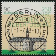 2985I Hubertusburg Marke Mit GERADER Nummer EV-O Berlin - BRD