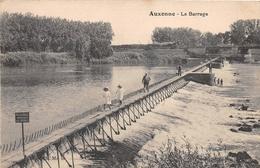 ¤¤  -   AUXONNE   -  Le Barrage   -  Pêcheurs , Pêche à La Ligne    -   ¤¤ - Auxonne