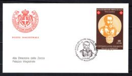 SMOM - 2001 - 4° CENTENARIO DELL'ELEZIONE DEL GRAN MAESTRO FRA' ALOF DE WIGNACOURT - FDC - Sovrano Militare Ordine Di Malta