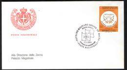 SMOM - 2001 - CONVENZIONE POSTALE CON LA REPUBBLICA DEL MALI - FDC - Sovrano Militare Ordine Di Malta
