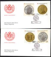 SMOM - 2001 - LE MONETE DELL'ORDINE - 1^ EMISSIONE - FDC - Sovrano Militare Ordine Di Malta