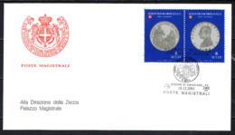 SMOM - 2001 - LE MONETE DELL'ORDINE - 2^ EMISSIONE - FDC - Sovrano Militare Ordine Di Malta