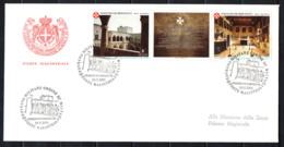 SMOM - 2001 - MUSEO DELL'ORDINE NEL PALAZZO DEL GRAN MAESTRO IN RODI - FDC - Sovrano Militare Ordine Di Malta