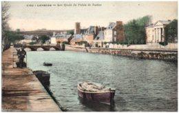 22 LANNION - Les Quais Du Palais De Justice - Lannion