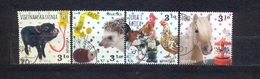 CROATIA - HOME ANIMALS -MI.NO.1448/51 - KC = 3,6 € - Kroatien