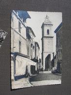 Cpsm 10x15 V Marseillan L Eglise Le Clocher Commerce Bon Etat - Marseillan