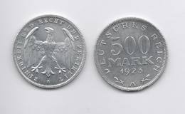 ALEMANIA - GERMANY - WEIMAR  500 Mark 1923A  SIN CIRCULAR - Zonder Classificatie