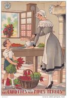 CP - JEAN PARIS - Barré Et Dayez - Barday Nos Plats Régionaux - Les Carottes Aux Fines Herbes - 1419Z - Cuisine - Barday