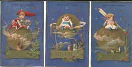 3 CHROMO AU PETIT SAINT THOMAS 1890 IMP: VALLET MINOT - Kaufmanns- Und Zigarettenbilder