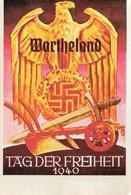 DC520 - REPRO Tag Der Freiheit Wartheland Hakenkreuz WW2 Nazi Regime - War 1939-45