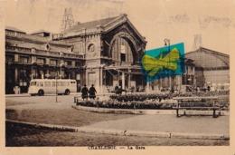 CHARLEROI - La Gare - Circulé En 1947 - Charleroi