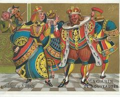 CHROMO A LA VILLE DE SAINT DENIS 1900 IMP. DUPUY - Kaufmanns- Und Zigarettenbilder