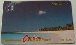 ANGUILLA - GPT - ANG-3A - $20 - Shoal Bay - USED - Anguilla
