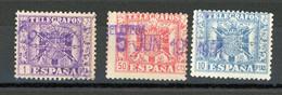 ESPAGNE - TELEGRAPHE - N° Yt 93 Obli. - Telegrafi
