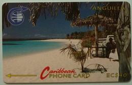ANGUILLA - GPT - ANG-3B - $40 - Shoal Bay Bar- USED - Anguilla