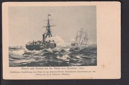 D19 /   Dampfer U. Segelschiff Meteor U. Bouvet Um 1900 - Other