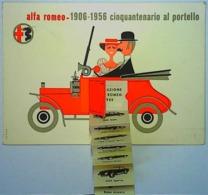 ALFA ROMEO - CINQUANTENARIO AL PORTELLO - 38° SALONE INTERNAZIONALE DELL'AUTOMOBILE - Publicité