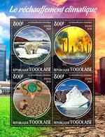TOGO 2020 - Global Warming. Official Issue. [TG200105a] - Umweltverschmutzung