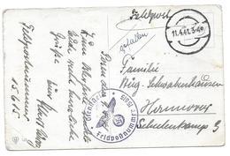 WWII DIENSTSTELLE FELDPOST 15615 RAD ABTEILUNG 5/182 HANOVRE - CPA CORRESPONDANCE MILITAIRE - Guerre 1939-45