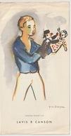 BUVARD - PAPIER CANSON - ILLUSTRATION YVES BRAYER - Buvards, Protège-cahiers Illustrés