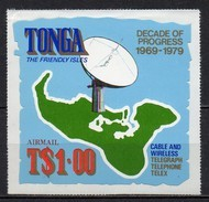 Tonga - Poste Aérienne - 1979 - Yvert N° PA 253 **  - Dix Ans De Progrès - Tonga (1970-...)
